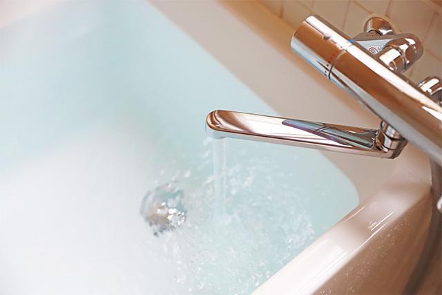 お風呂のお湯が汚れる
