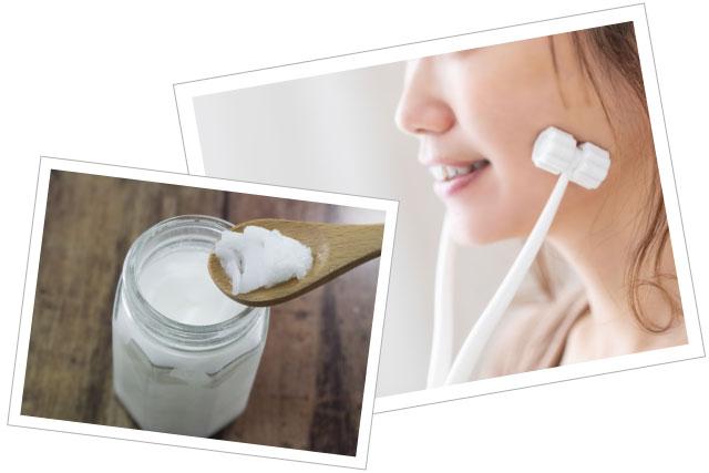ココナッツオイルの4つの美肌効果