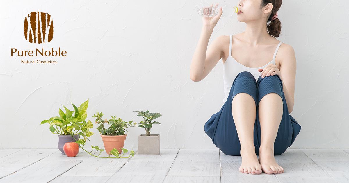 肌の水分量を上げる食べ物7選!
