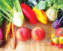 酵素がたっぷり詰まった野菜とフルーツ