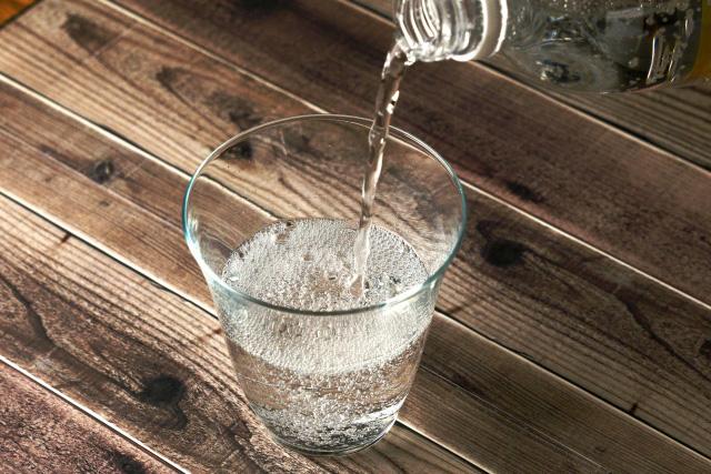 炭酸水の肌への2つの効果
