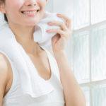 お風呂上がりの顔汗をピタッと止める!超簡単な3つの方法