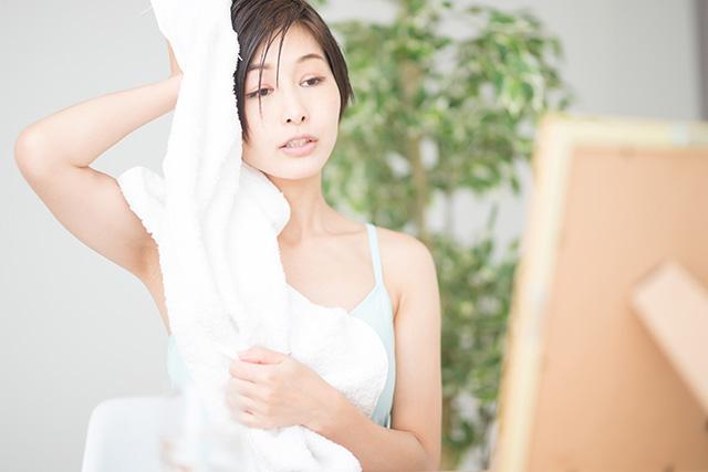お風呂上がりの汗が止まらない時の超簡単な3つの対策!