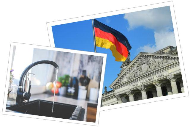 水道とドイツ議会
