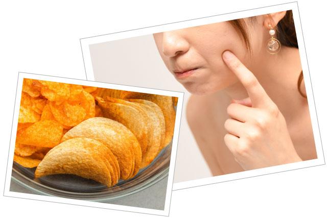トランス脂肪酸がニキビや肌荒れ、アトピーの原因になるって本当?